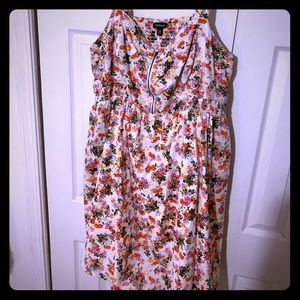 Torrid size 26 lined mini dress with pockets 💗🤯